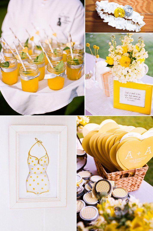 outdoor weddings lemon yellow wedding colors signature drinks wedding flowers and decorations