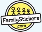 Happy Family Giveaway From Familystickers.com - $30 gift card to familystickers.com
