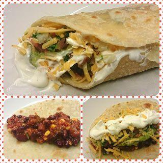 Hey... Spicy Bean Burrito! www.ycccookinsogood.blogspot.com by:Awaken your Inner Gourmet Goddess...