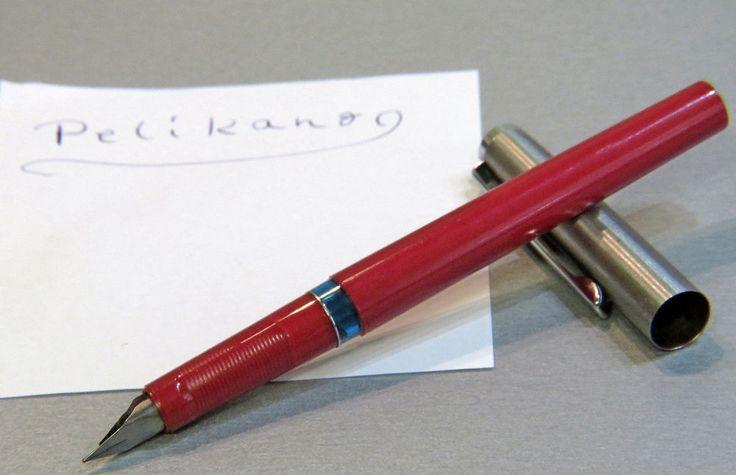 Pelikano ~ Patronenfüllhalter ~ rot ~ Sammlerstück in Sammeln & Seltenes, Büro, Papier & Schreiben, Füller & Schreibartikel | eBay