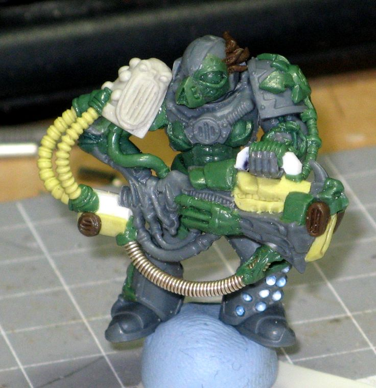 Chaos, Chaos Space Marines, Conversion, Noise Marines