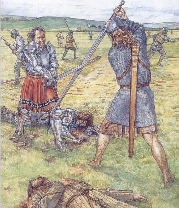 Irish Warrior, Scottish Warrior