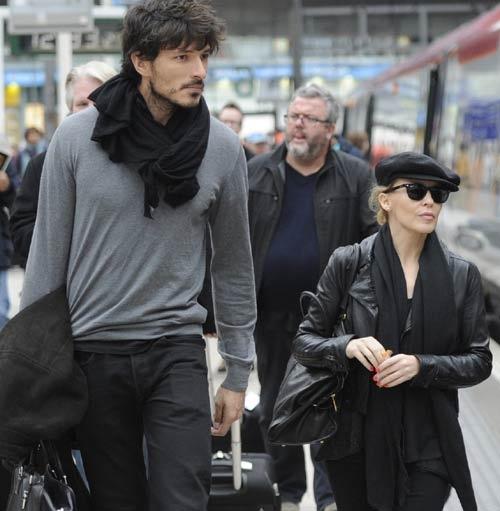 Andrés Velencoso & Kylie Minogue