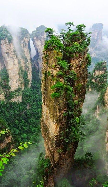 Hallelujah Mountains - Zhangjiajie National Forest Park, China
