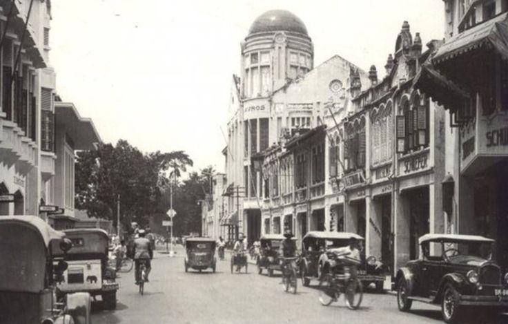 Jalan Kesawan Medan @Depan Restouran TIP TOP