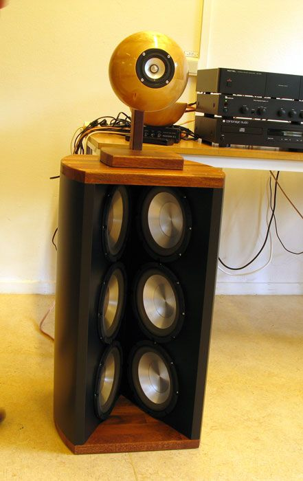 17 Best Images About DIY Open Baffle Loudspeakers On