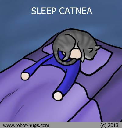 Sleep Catnea. [Cativan is good medicine, but there can be concerning side effects...]