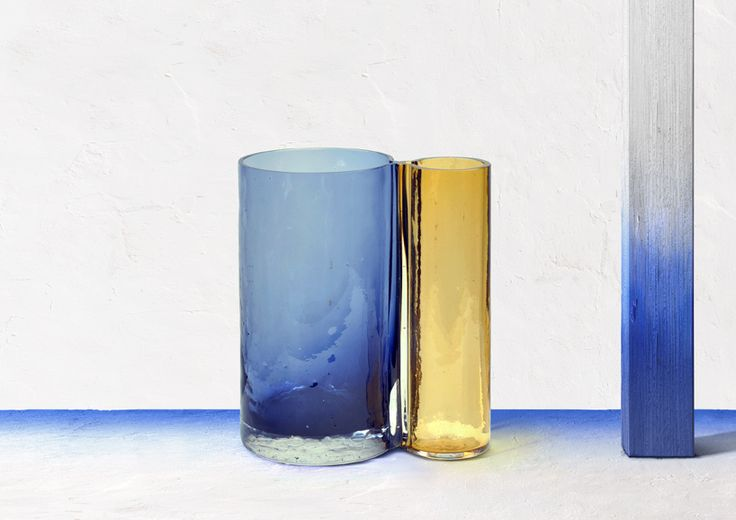 off portugal's glass cares experimental workshop showcased at the london design fair