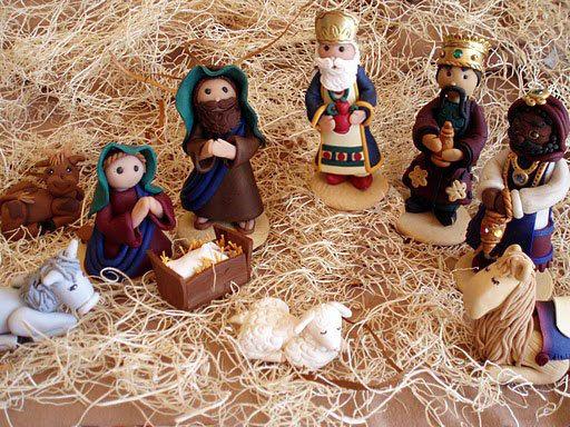 Polymer Clay Nativity