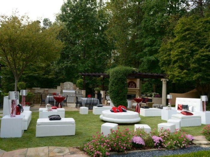la d coration anniversaire adulte en 60 magnifiques photos id e anniversaire pinterest. Black Bedroom Furniture Sets. Home Design Ideas