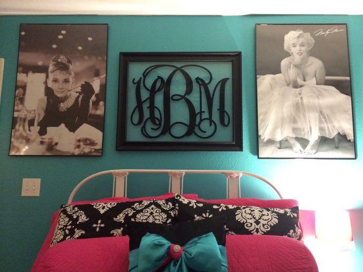bedroom audrey hepburn marilyn monroe for me