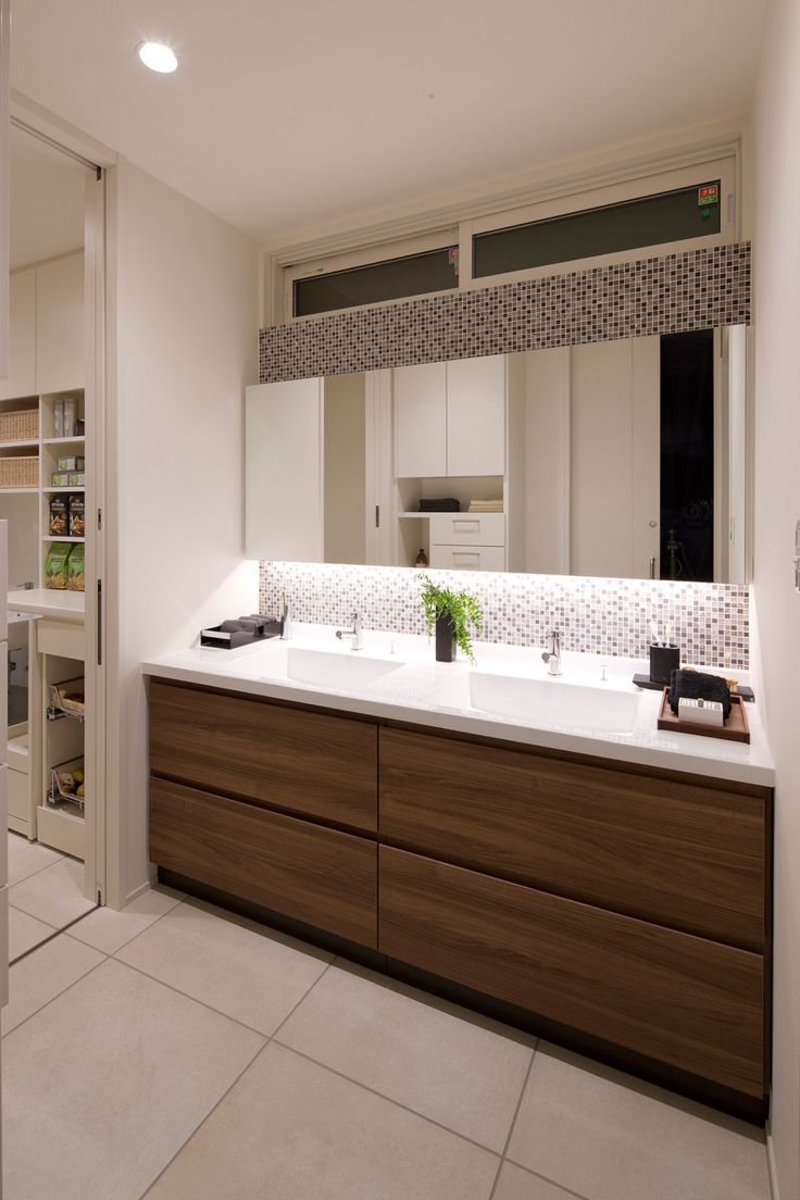 コイズミ照明株式会社 | 家のあかりぜんぶLED施工イメージ集 | 鏡下間接照明手法