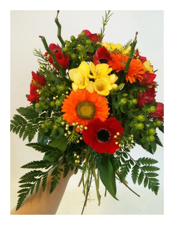 A colorful bouquet to start of the spring.