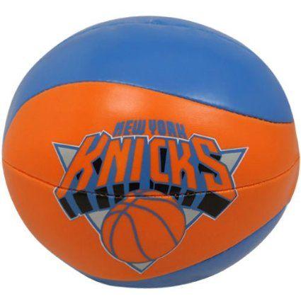 NBA New York Knicks 4 Free Throw Softee Basketball, Multicolor