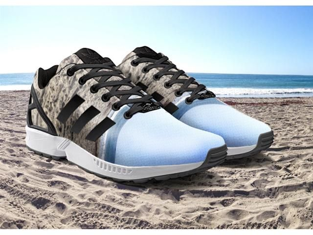 Print Your Pictures onto Your Shoes w/ Adidas ZX Flux App