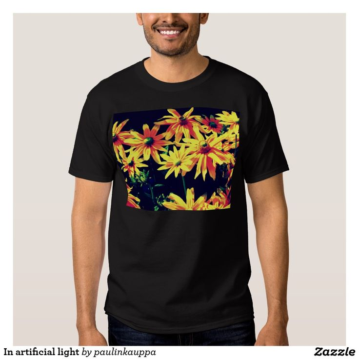 In artificial light Men's tee shirt