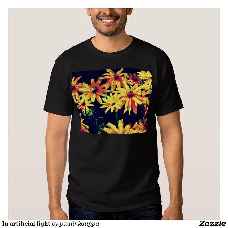 In artificial light Men's tee shirt