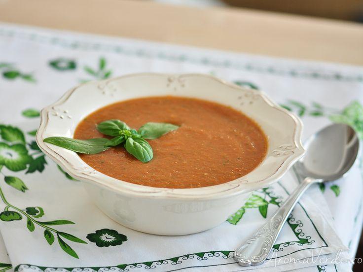 Supă de roșii de vară