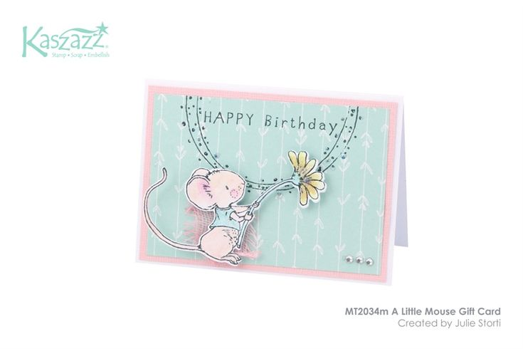 MT2034m A Little Mouse Gift Card