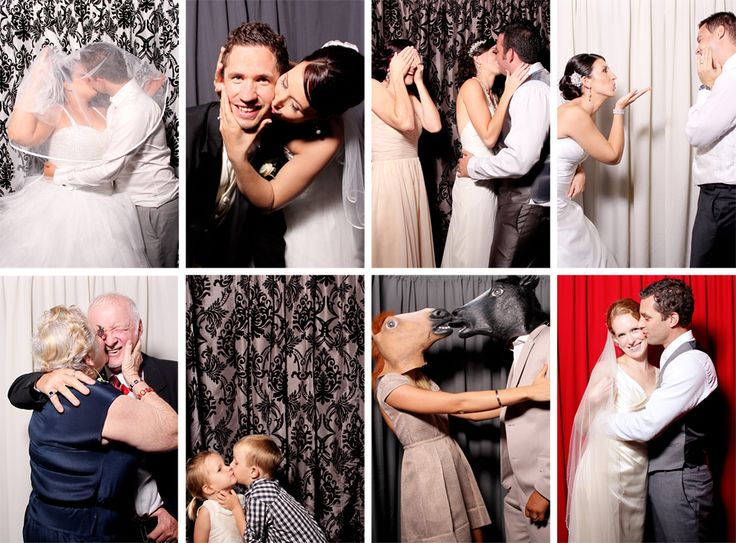 Photo booth kisses are the best kind.
