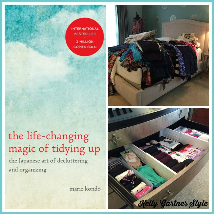 Tidying Up the KonMari Way: An Introduction Marie Kondo developed the KonMari Method of tidying. It's an efficient, empowering way to sort through your stuff, keeping only what you love. This is an introduction to the basic principles of her method.