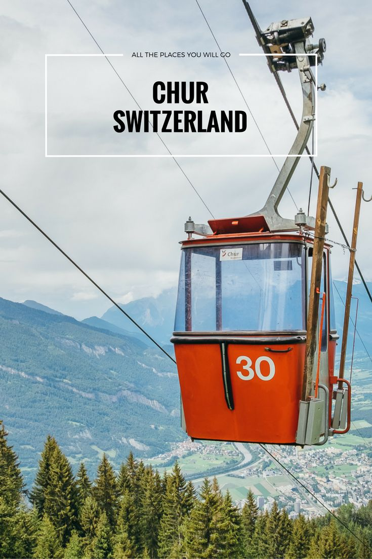 Check our blogpost about places to go in and near Chur, Switzerland! Travel & Photography | All the places you will go