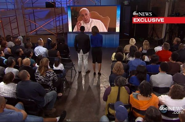 In a virtual audience with Americans Pope Francis heard emotive testimonies from undocumented immigrants, comforted a single mother, and encouraged greater solidarity in world racked with many problems.