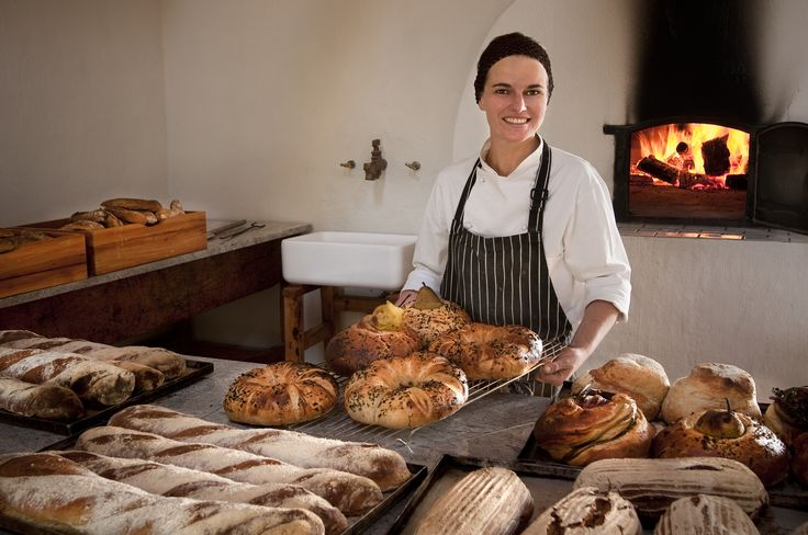 Nothing better than freshly baked bread and pastries all made in their clay oven. #GourmetAfrica #Babylonstoren #foodie