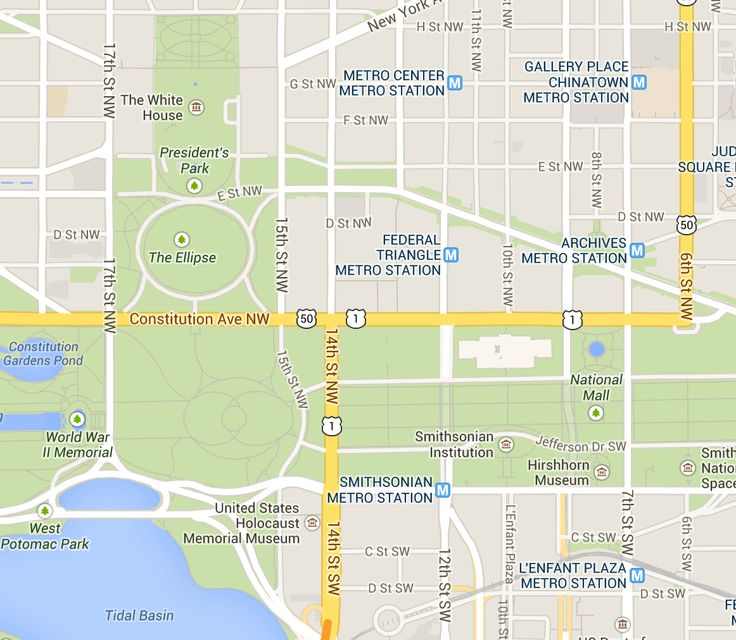 National Cherry Blossom Parade Route Map and Directions