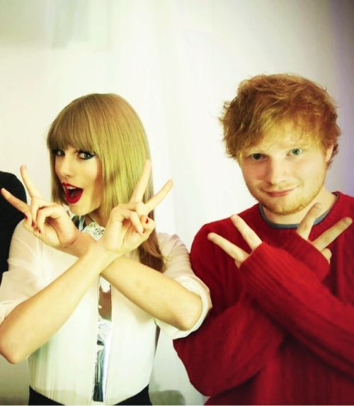 ed sheeran and taylor swift - photo #3
