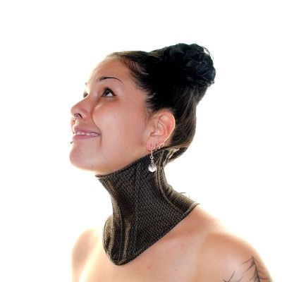 Neck Corset Pattern and Tutorial