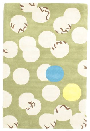 Kurbits Handtufted - Green rug 120x180