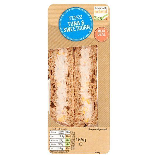Tesco Tuna And Sweetcorn Sandwich - Groceries - Tesco Groceries