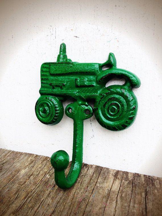 BOLD John Deere green farm tractor hook // cowboy by BOLDHOUSE, $13.00