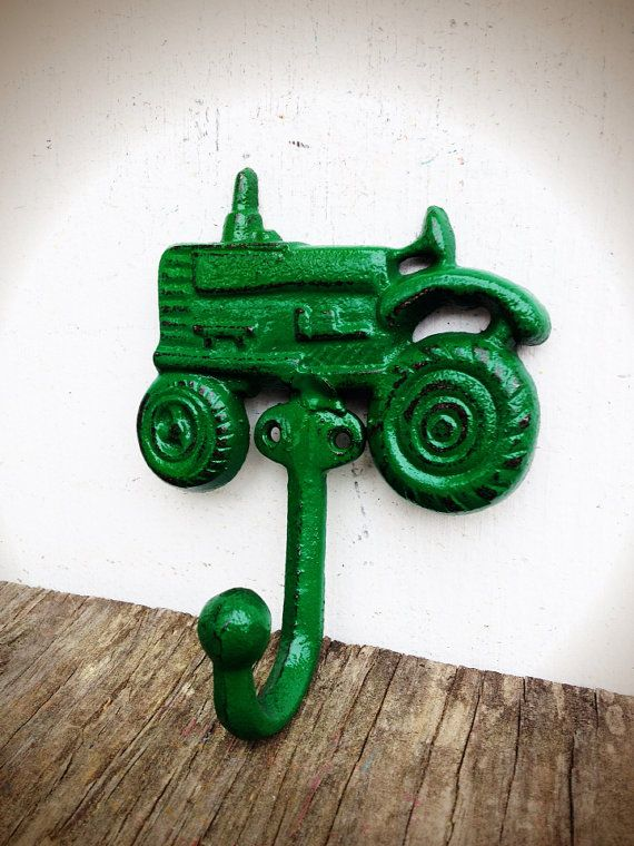 BOLD John Deere green farm tractor hook // cowboy by BOLDHOUSE, $13.00