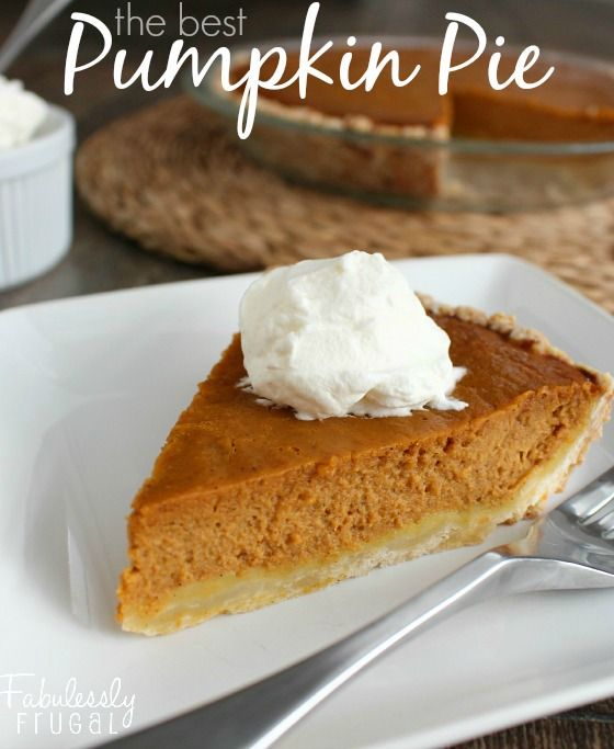 The Best Pumpkin Pie Recipe. I love this pumpkin pie with its perfect blend of spices and creamy pumpkin goodness. A must-have dessert for Thanksgiving.