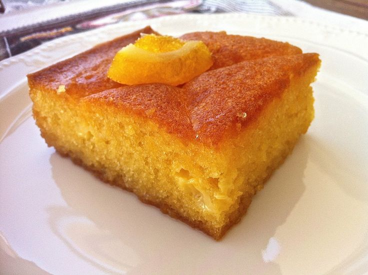 Traditional Greek Yogurt Cake with Orange Syrup (Portokalopita ...