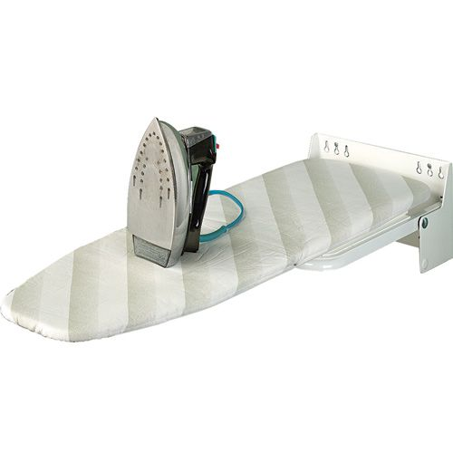 Wall-Mounted Fold-Up Ironing Board - Rockler.com