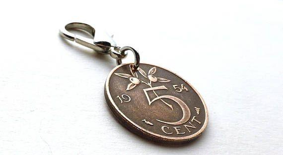Zipper charm Netherlands Holland Purse charm Handbag