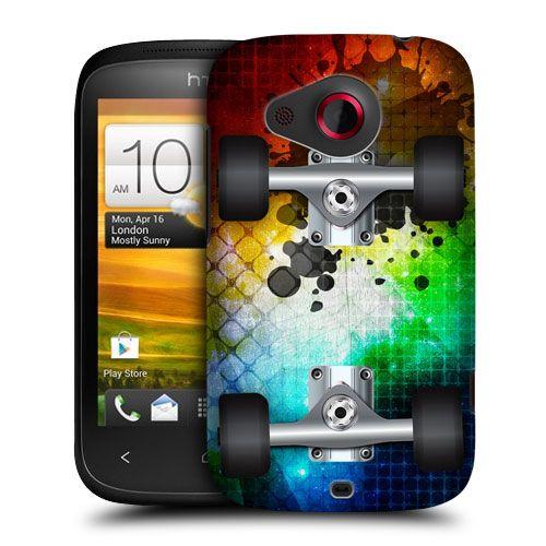 Head Case Designs Skateboards Hard Back Case Cover FOR HTC Desire C   eBay
