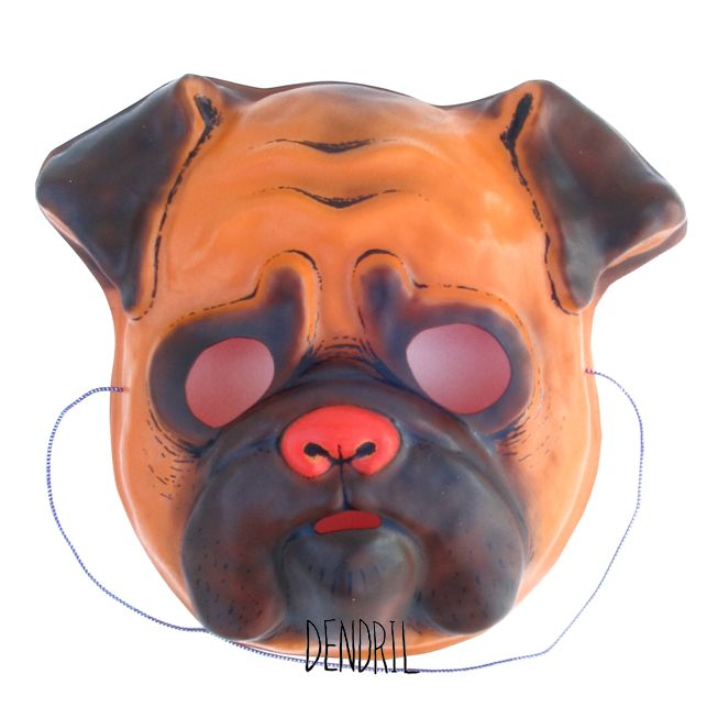 Reese's Pug Mask by Dendril