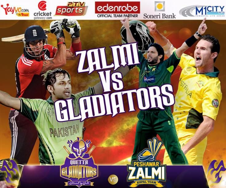 Peshawar Zalmi Vs Quetta Gladiators PSL T20 Match Live 1st Semi Final Match Live Score 1st Qualifier Match Of Pakistan Super League PSL T20 2016 Friday.