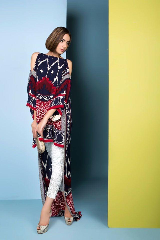 Sana Safinaz Two Piece Unstitched Linen Collection 2016
