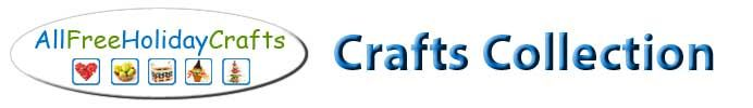 Free Easy Holiday Crafts Including Halloween Crafts, Christmas Crafts, Easter Crafts, Fourth of July Crafts and More from AllFreeHolidayCraf...