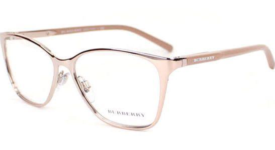 Burberry BE1255 Eyeglasses, #1188 Rose Gold