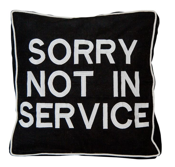 iconic cushion - NOT IN SERVICE