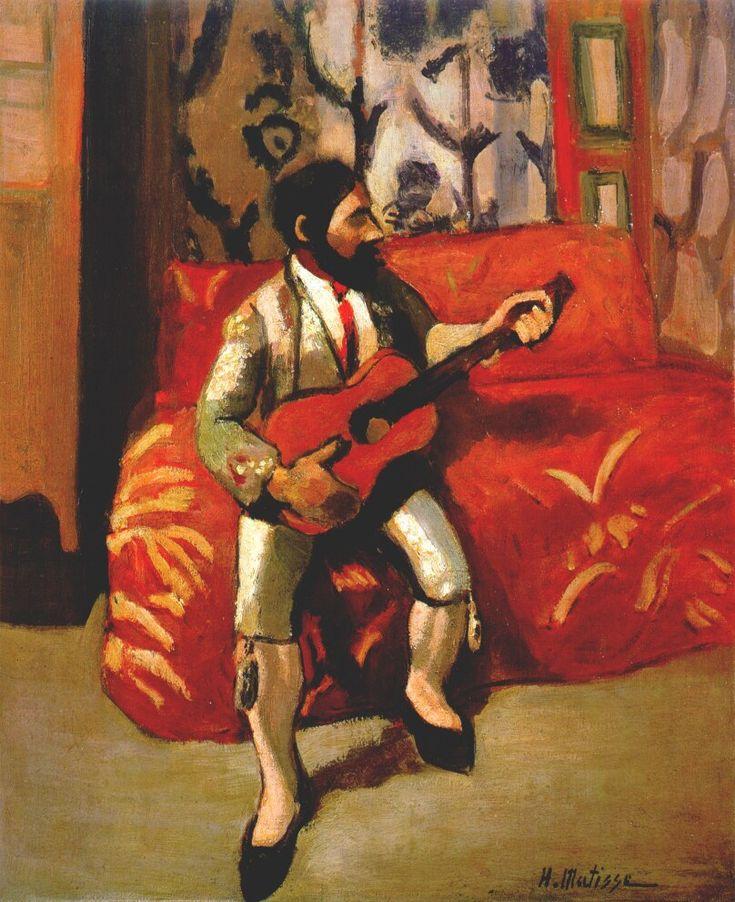 best art henri matisse images henri matisse guitarist by henri matisse 1903