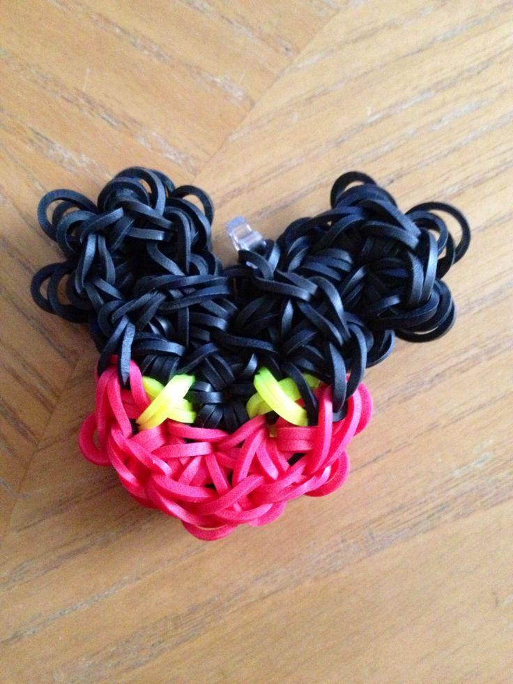 Mickey Mouse LOOM Bracelet! #DisneySide