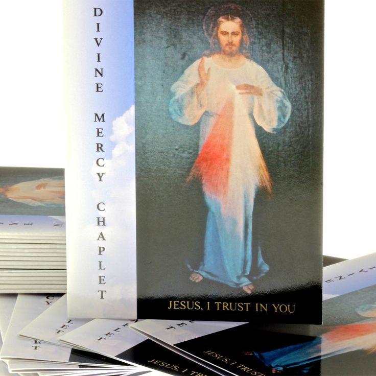 100 Divine Mercy Prayer Booklets