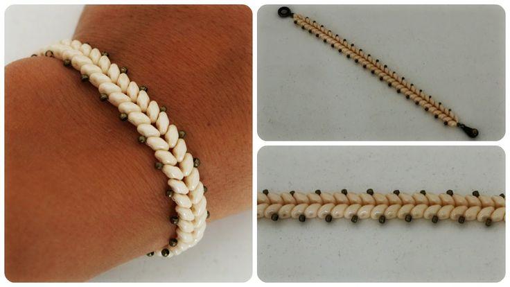 1000 images about bracciali bracelets on pinterest beaded bracelets super duo and seed beads. Black Bedroom Furniture Sets. Home Design Ideas